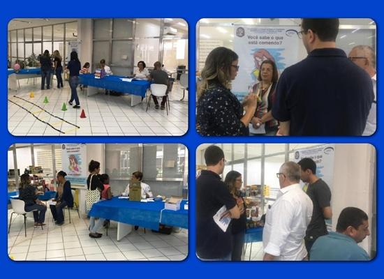 Caravana Itinerante da Saúde da DEPS/CPST na Faculdade de Letras - UFRJ